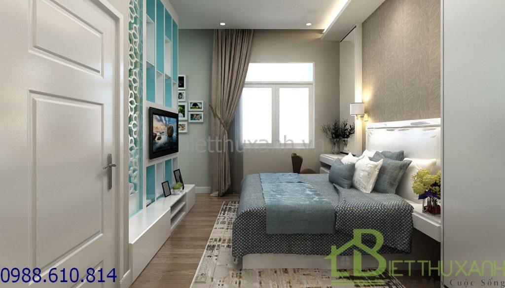 biet-thu-ban-co-dien - Thiết kế biệt thự 3 tầng có 2 mặt tiền