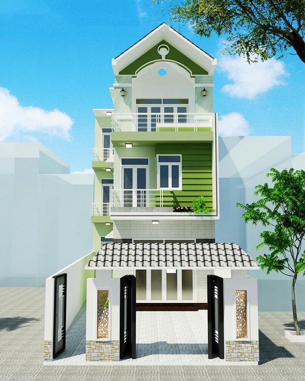 tham-khao, biet-thu - Chi phí thiết kế nhà 3 tầng ở thành phố là bao nhiêu?