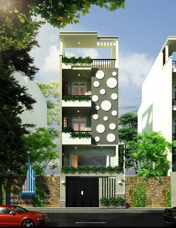 tham-khao, biet-thu - Thiết kế nhà ống 3 tầng niềm tin cho mọi công trình