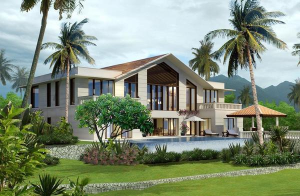 tham-khao, biet-thu - Thiết kế nhà vườn rộng - phong cách giản dị, yêu thương