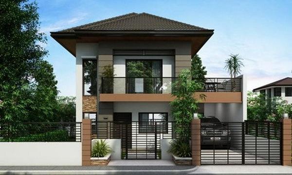 tham-khao, biet-thu - Làm gì để thực hiện thiết kế nhà nhỏ đẹp đơn giản