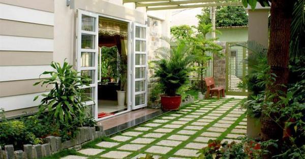 Thiết kế xây dựng nhà có nhiều cây xanh