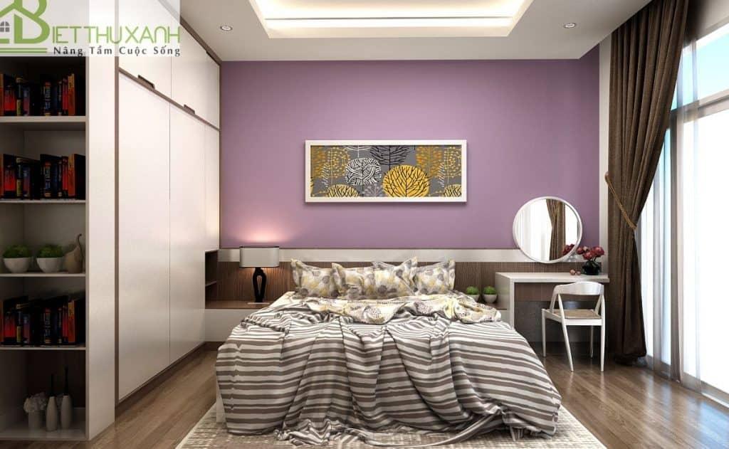 Thiết kế nội thất phòng ngủ dành cho ông bà