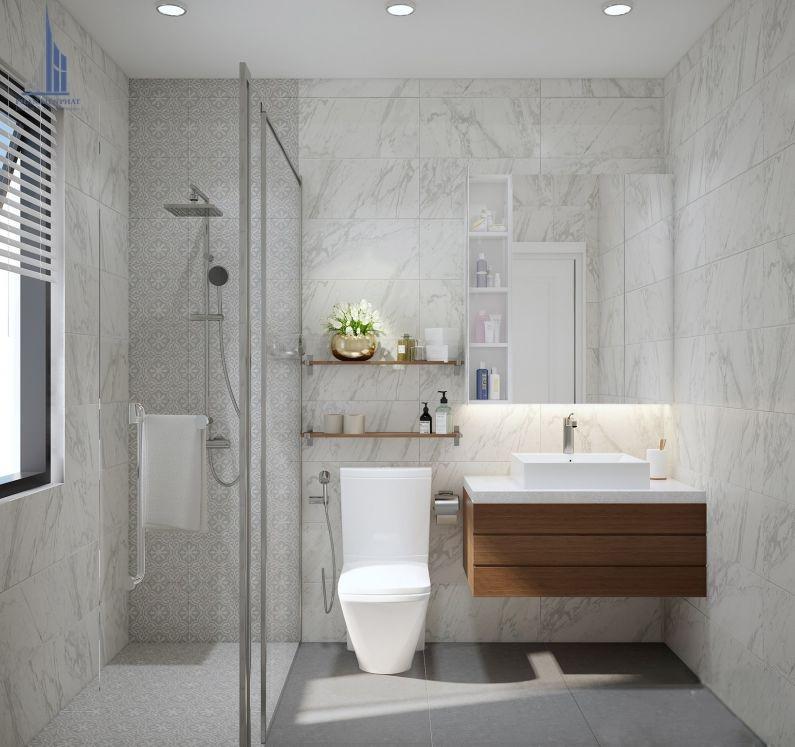 Nội thất phòng vệ sinh cho các thành viên trong gia đình