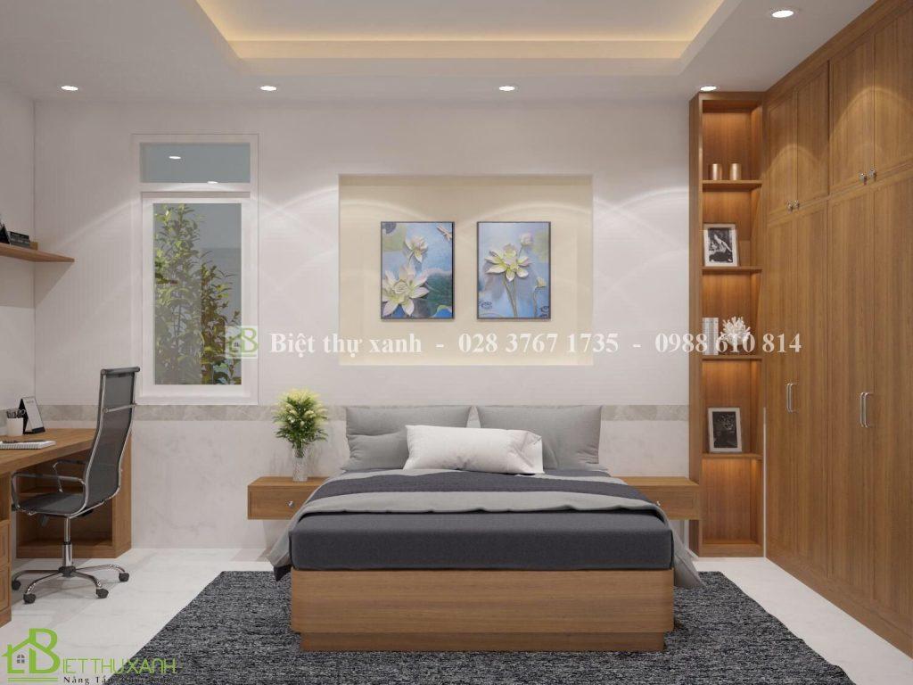 Thiet Ke Noi That Phong Ngu 10-Thiết kế biệt thự sân vườn