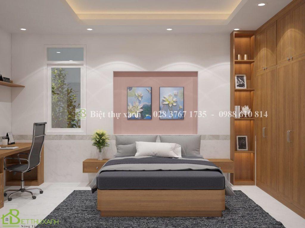 Thiet Ke Noi That Phong Ngu 14-Thiết kế biệt thự sân vườn