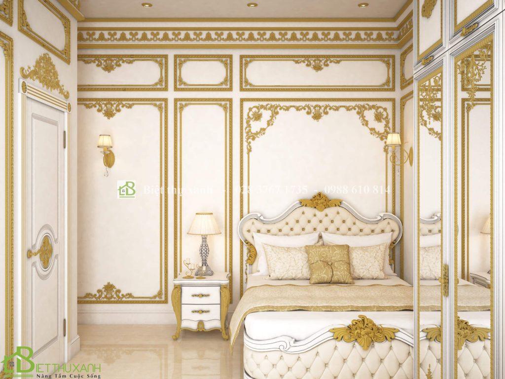 Thiet Ke Noi That Phong Ngu 2 2 - Thiết kế biệt thự cổ điển đẹp