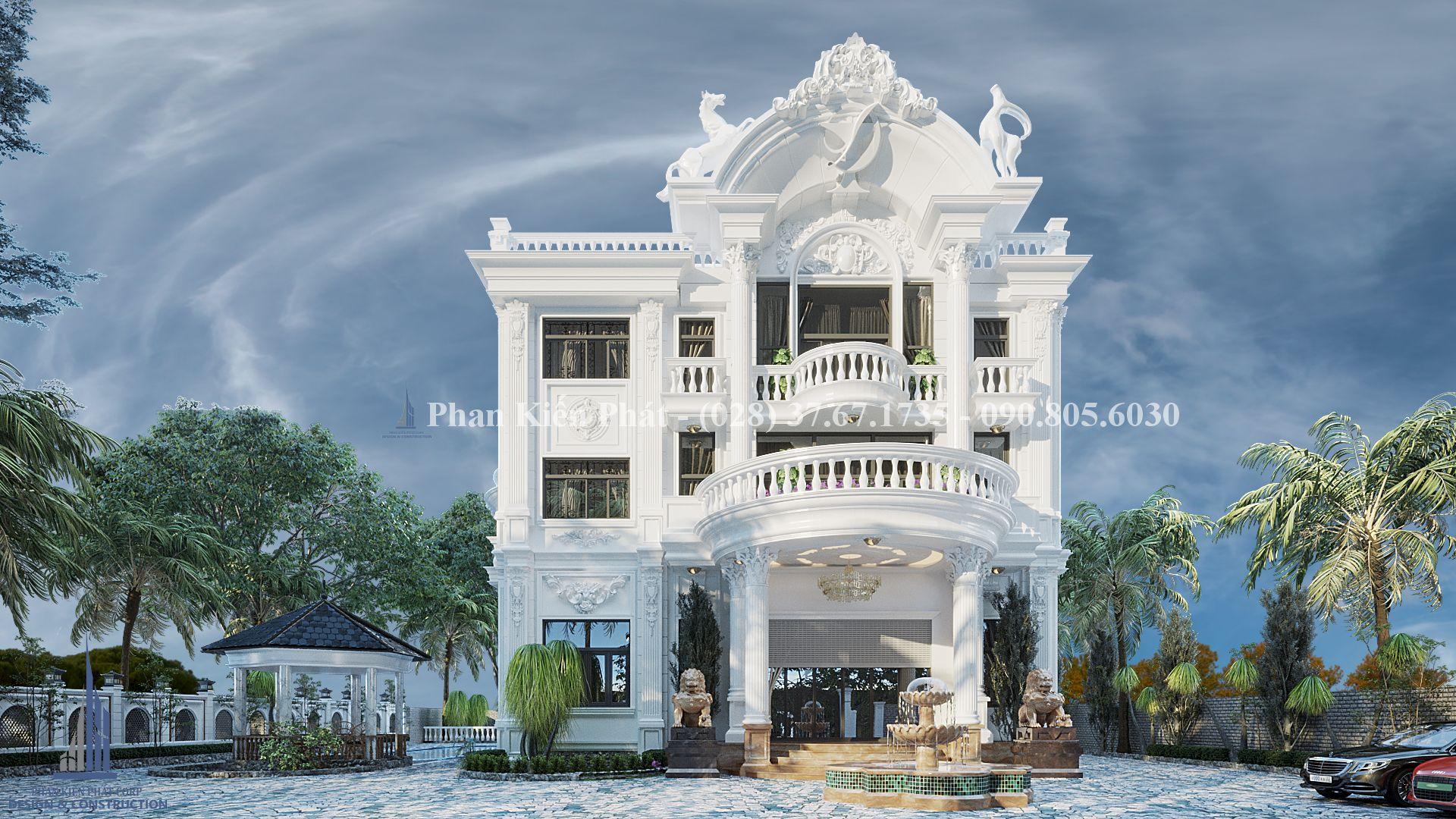 Biet Thu Co Dien Dep Anh Dung 1